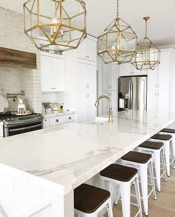 White Kitchens With Quartz Countertops: THE HOTTEST KITCHEN + BATHROOM TRENDS OF 2018