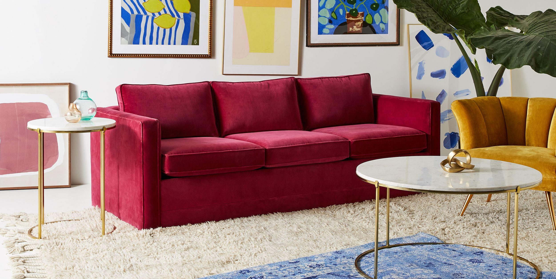 Superbe Color Bold Couch Interior Design Trends 2018