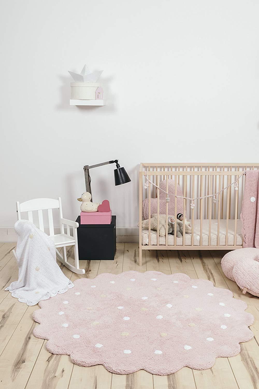 modern nursery kids room rug